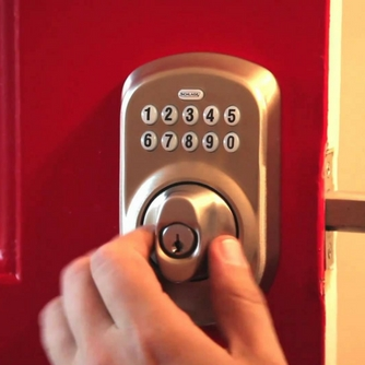 Electronic Lock Installation